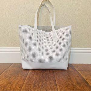 Neiman Marcus Bags - Neiman Marcus Perforated Tote
